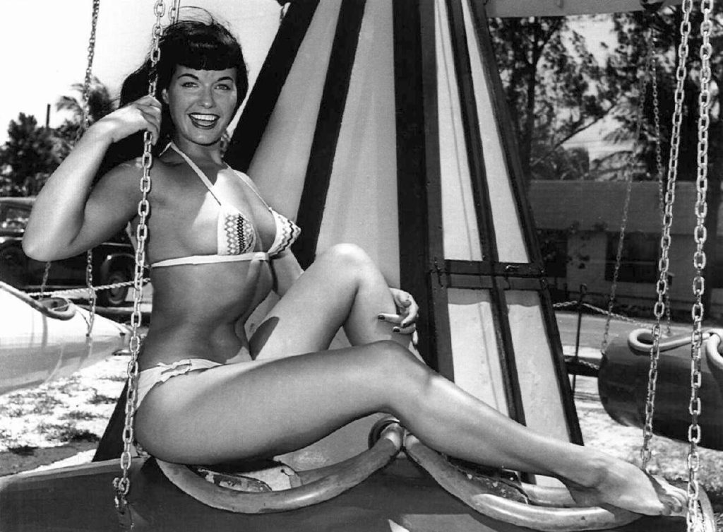 Bettie Page at Funland 10