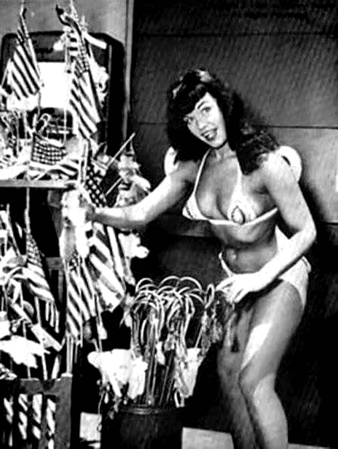 Bettie Page at Funland 12