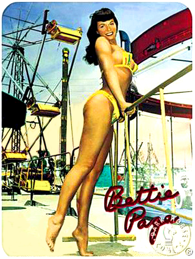 Bettie Page at Funland 13