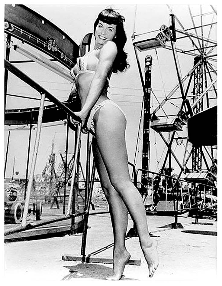 Bettie Page at Funland 3