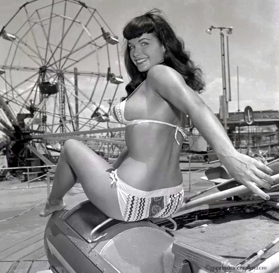 Bettie Page at Funland 4