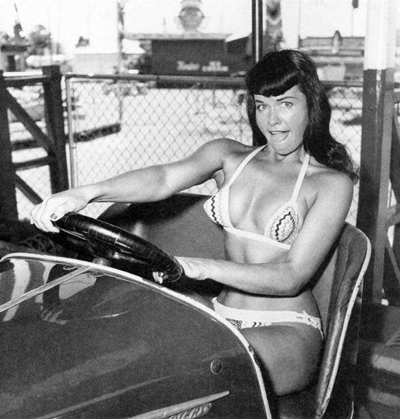 Bettie Page at Funland 5