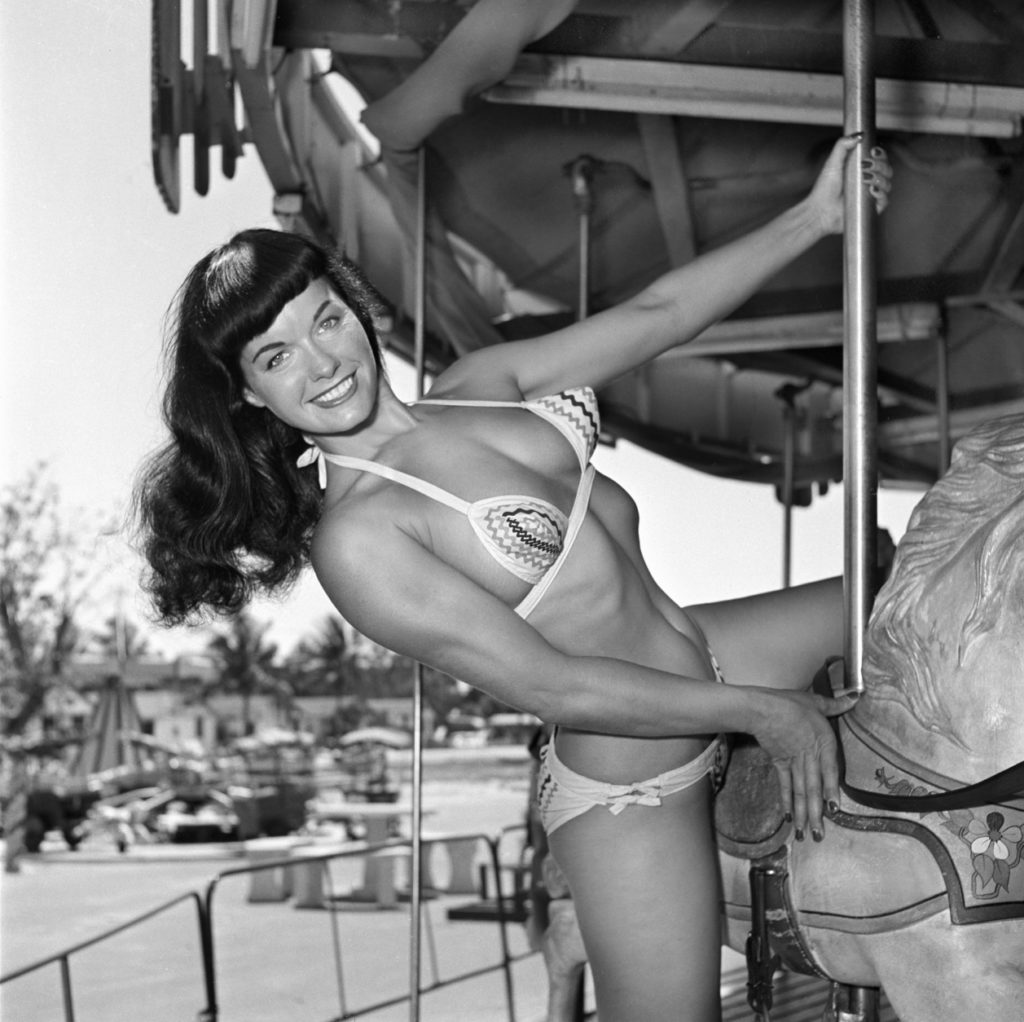 Bettie Page at Funland 8