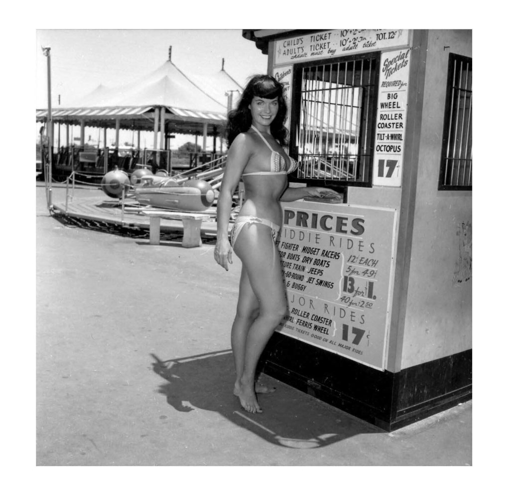 Bettie Page at Funland 9