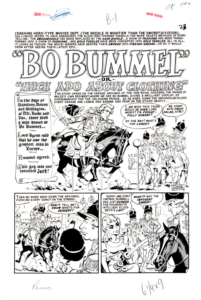 Bo Bummel or Much Ado About Clothing page 1