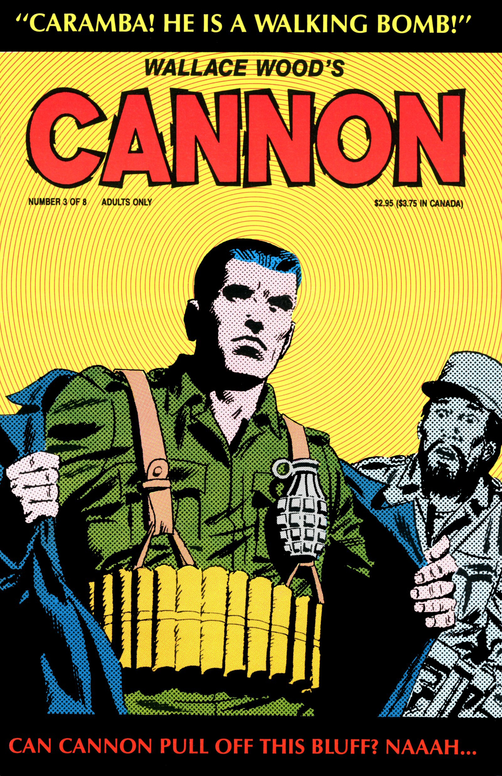 Cannon #3 – Love, lost and larceny