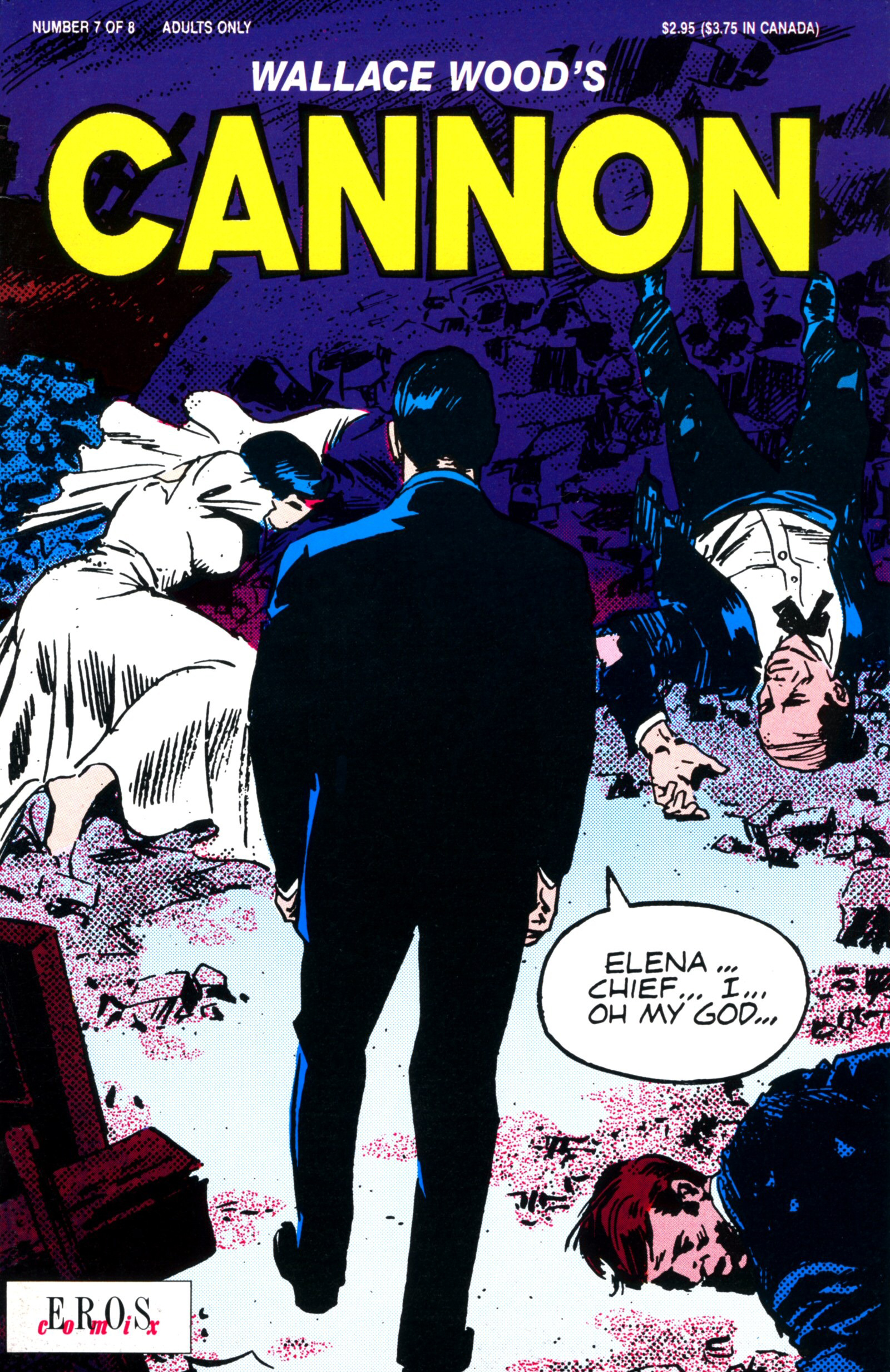 Cannon #7 Revenge for a lost love