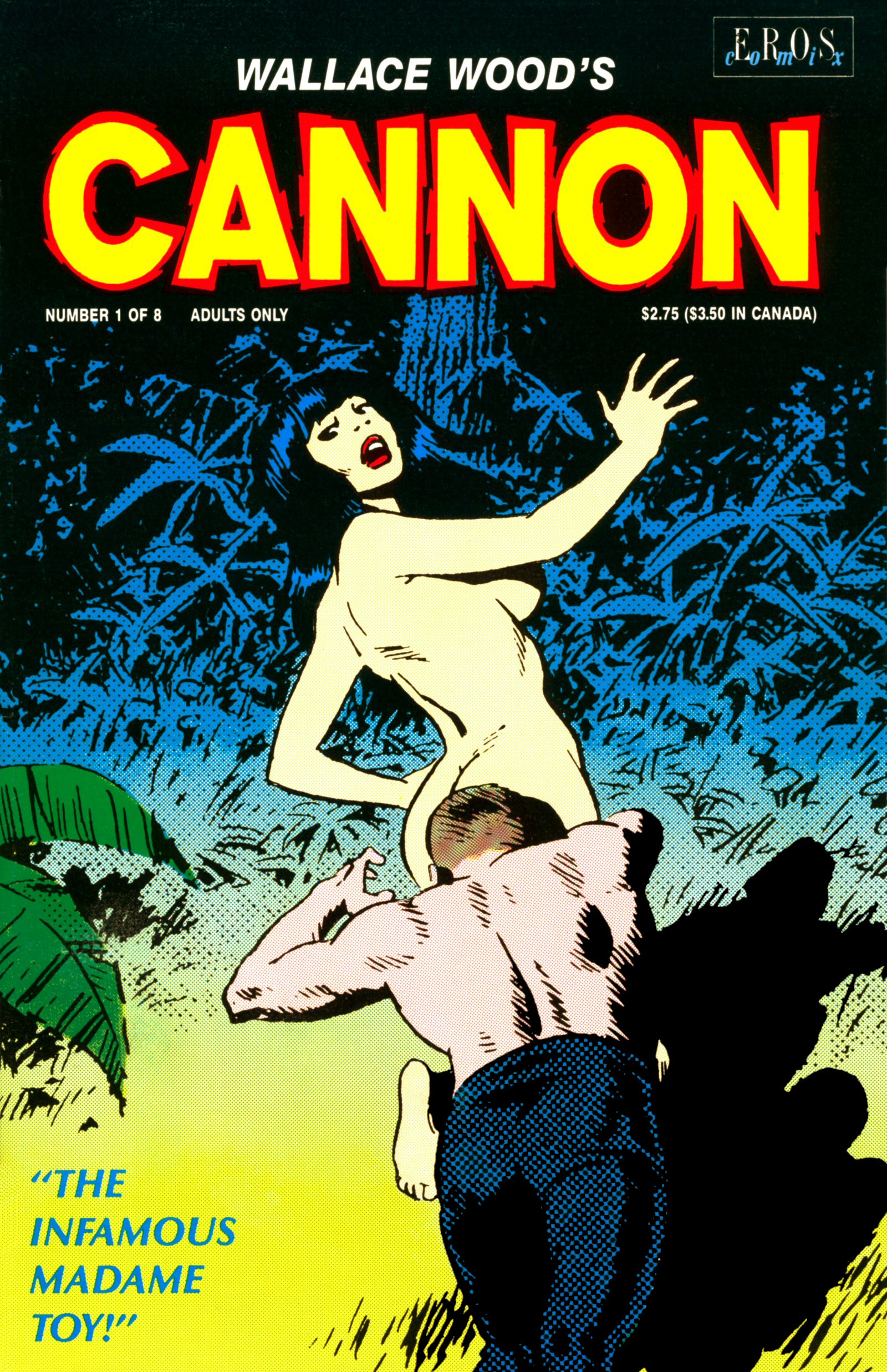 Cannon N°01 The infamous madame Toy – Wallace Wood