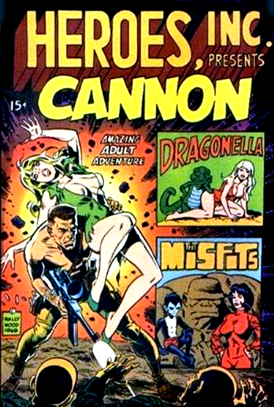 Cannon N°01 The infamous madame Toy 36 1969