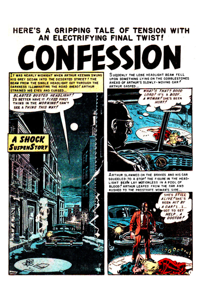 Confession Shock SuspenStories 4 1