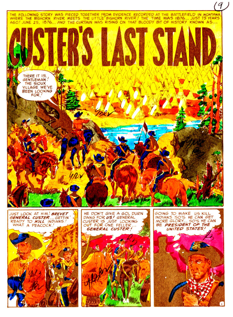 Custers Last Stand page 1B