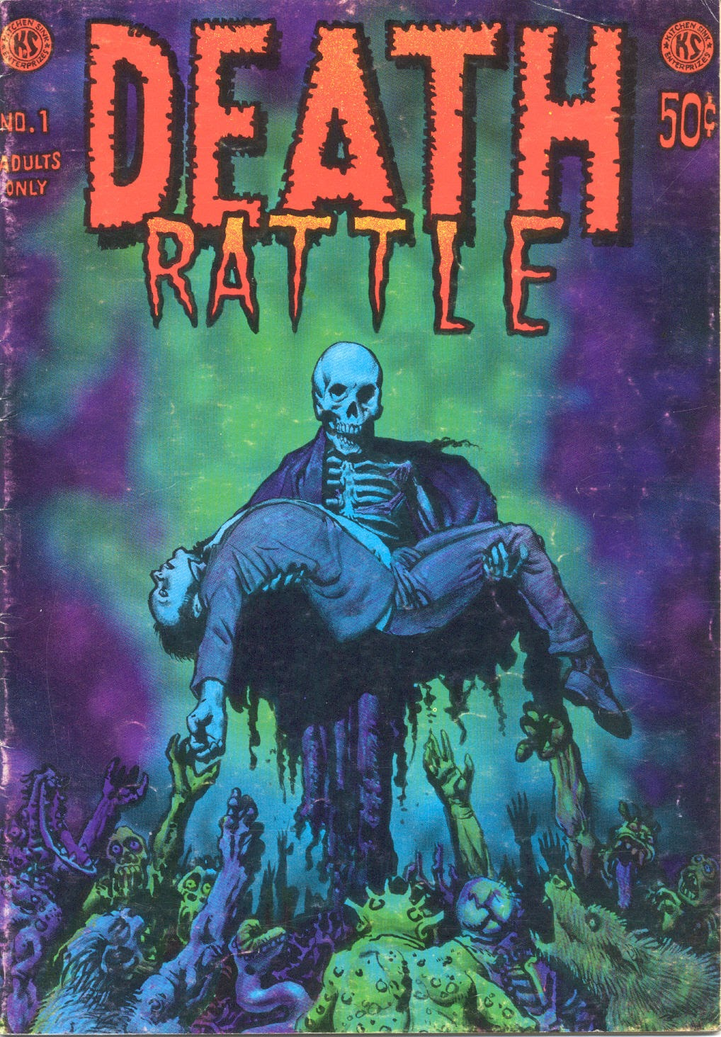 Gastric fortitude from Death Rattle #1 1972