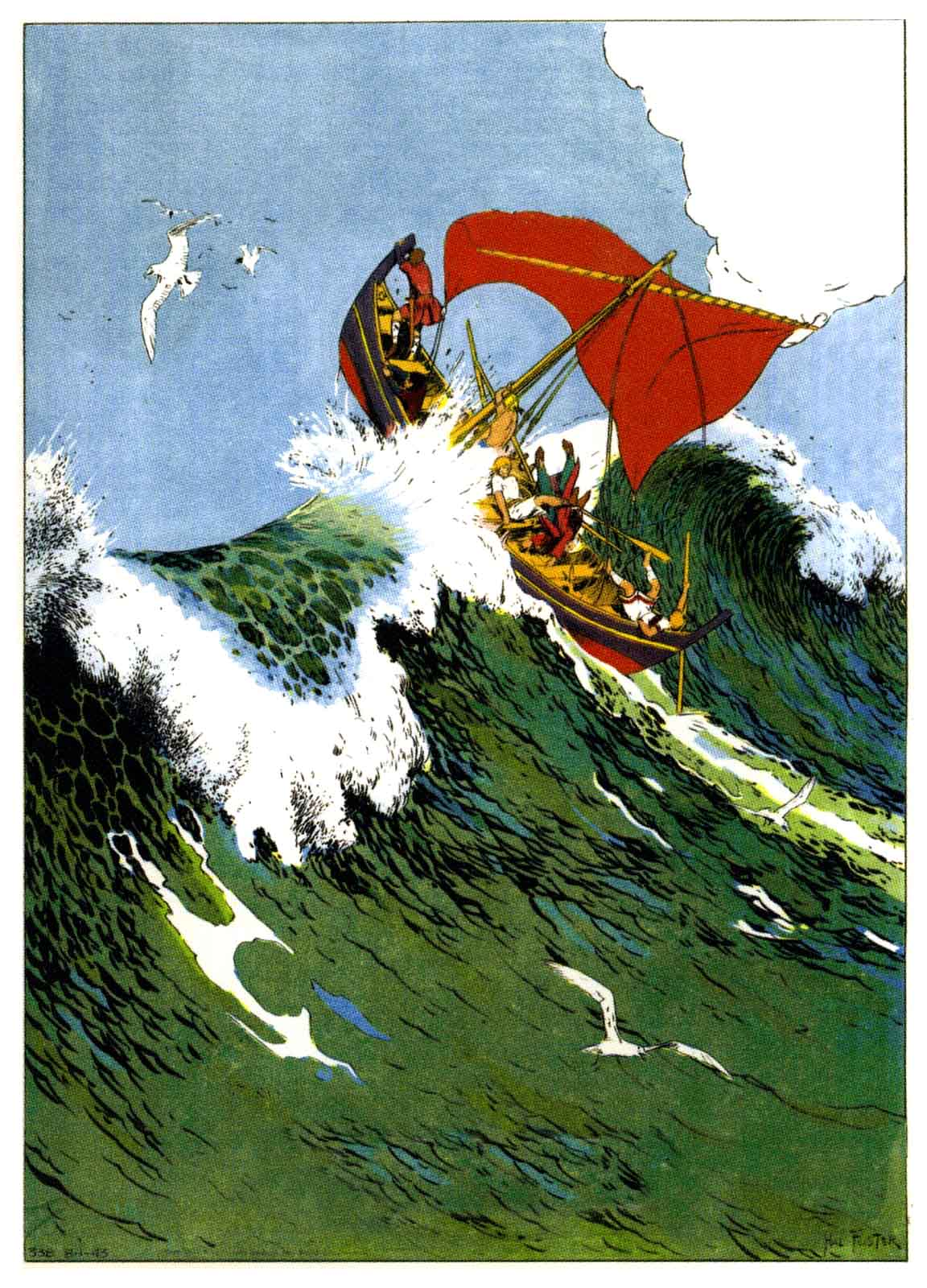 Prince Valiant Planches 1942 -1943