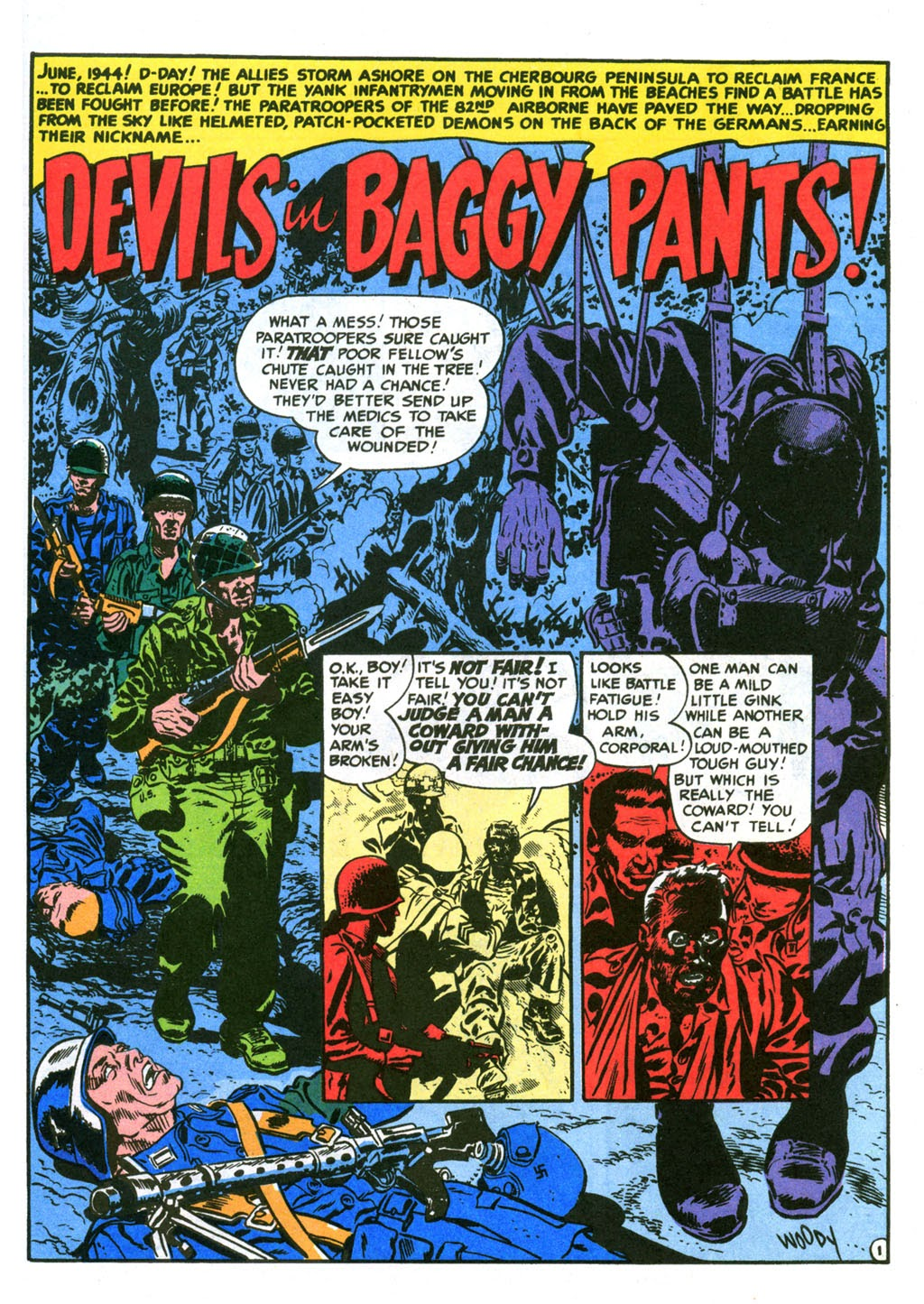 Devils in Baggy Pants ! from Two Fisted Tales 20