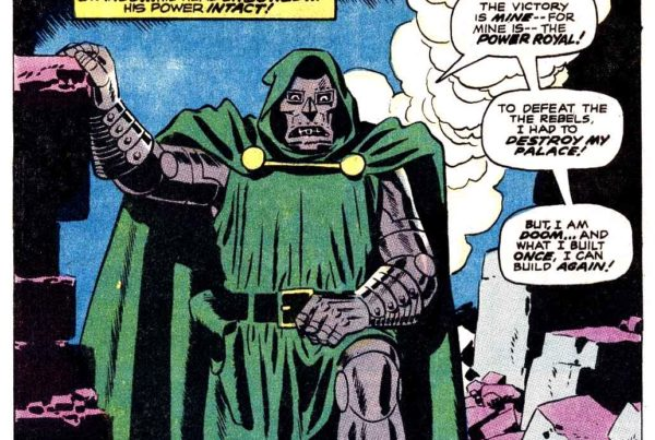 Doctor Doom Master of menace The Invaders 1