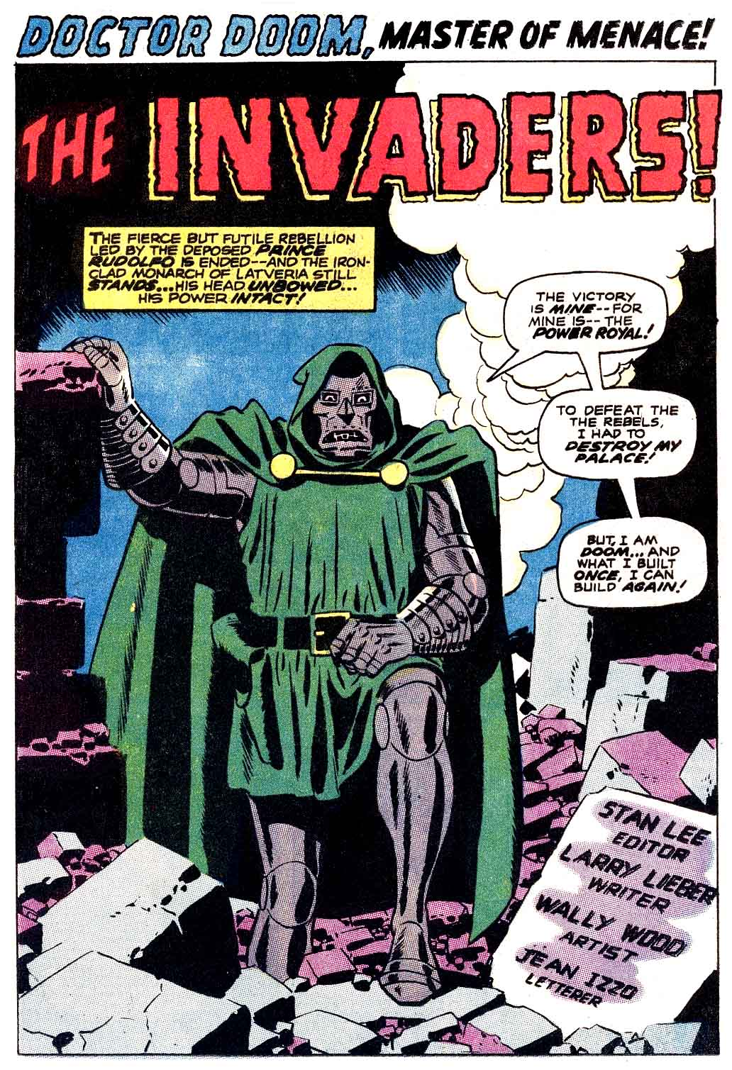 Doctor Doom Master of menace – The Invaders