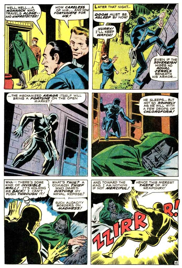 Doctor Doom Master of menace The Invaders 6