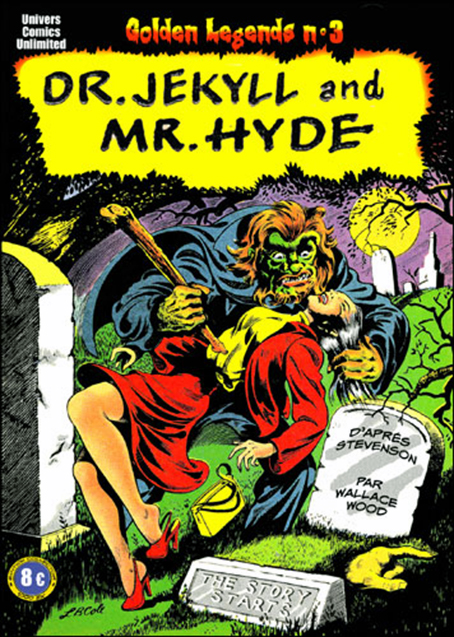 Wallace Wood – Dr Jekyll and Mr Hyde 1950