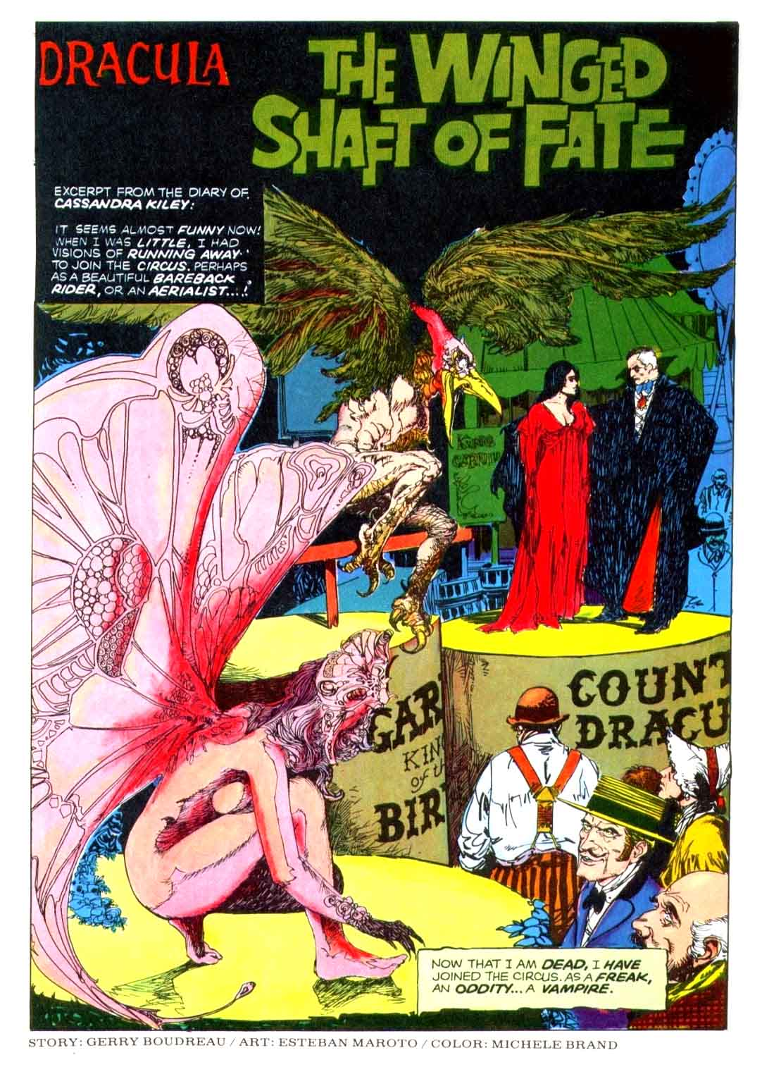 Dracula The Winged Shaft of Fate 1975