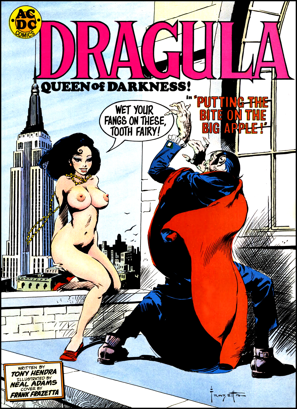 Dragula, Queen of Darkness from HORROR  November 1971
