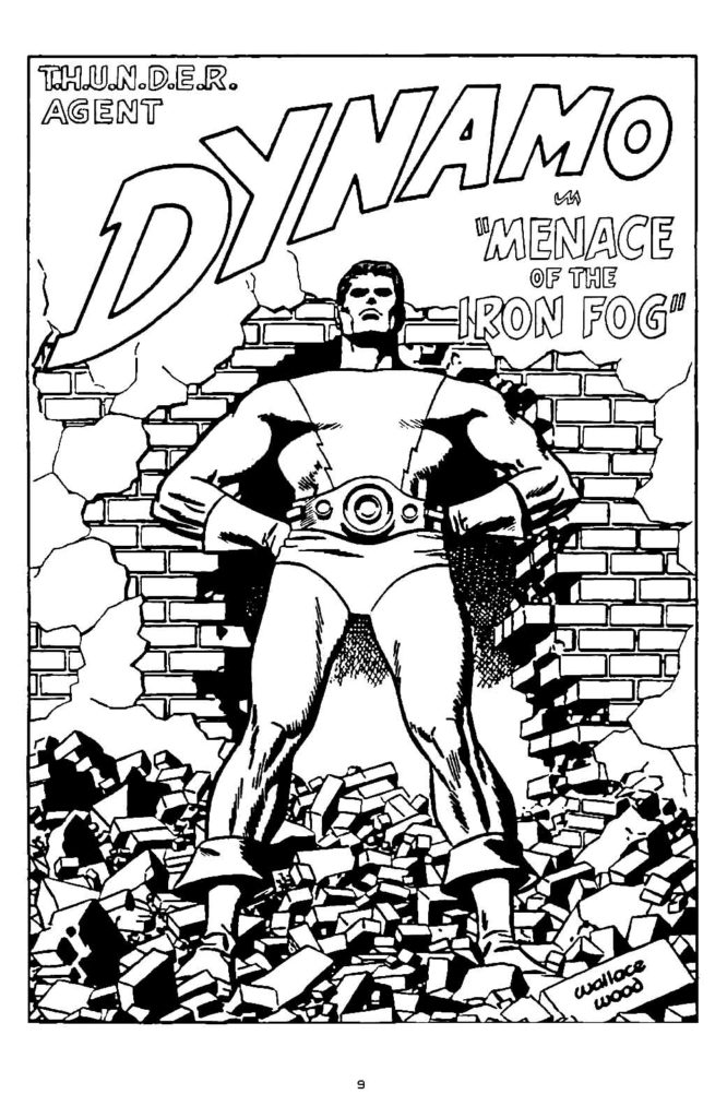 Dynamo Menace of the Iron fog 1