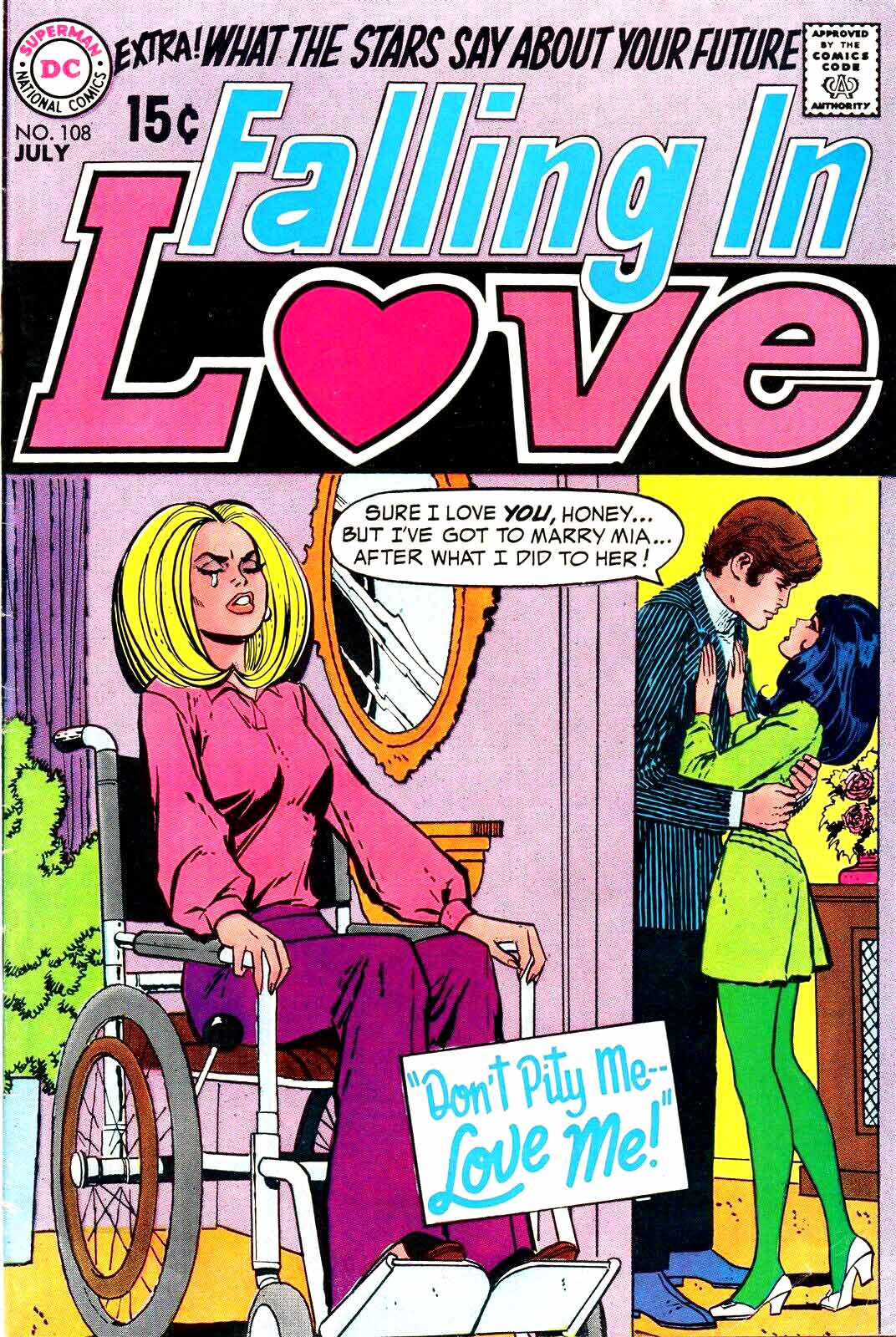 The Write Time to Love, Wood story inks (Ric Estrada pencils) 1969.