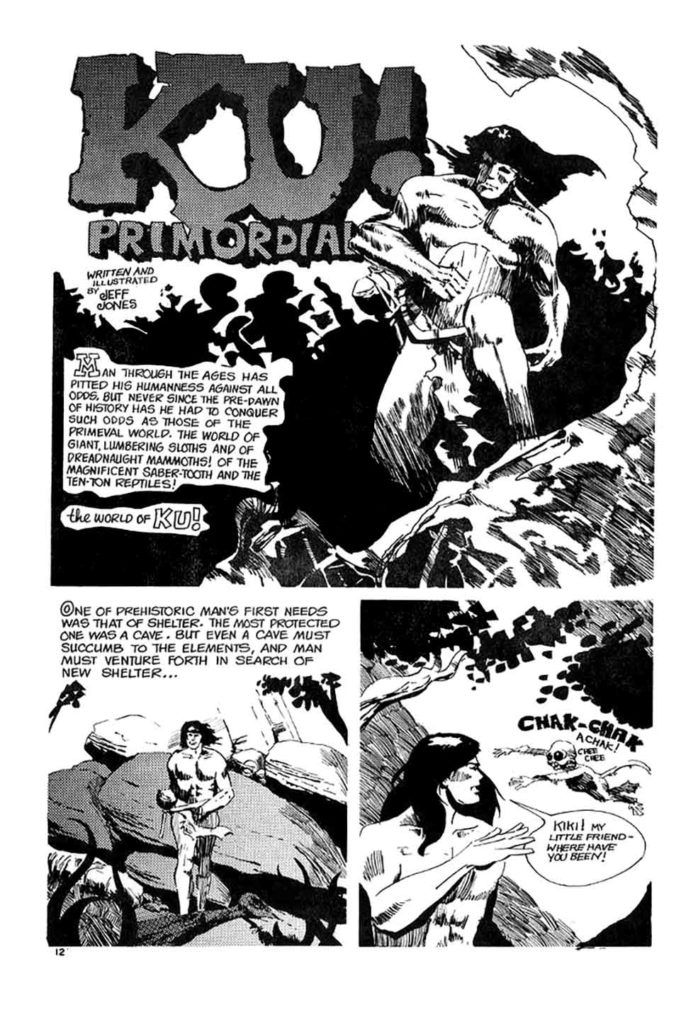 FANTASY ILLUSTRATED 4 PAGE 1