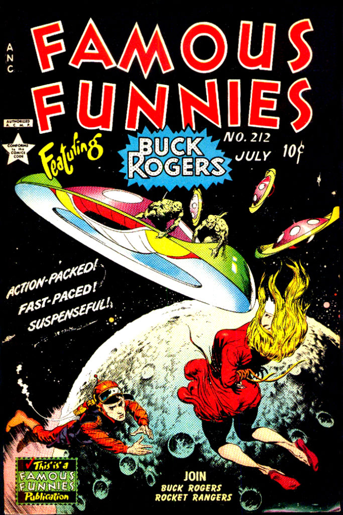 Famous Funnies 212 Buck Rogers