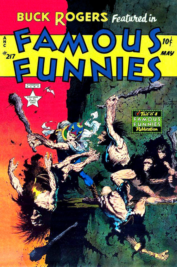 Famous Funnies 217 May 1955
