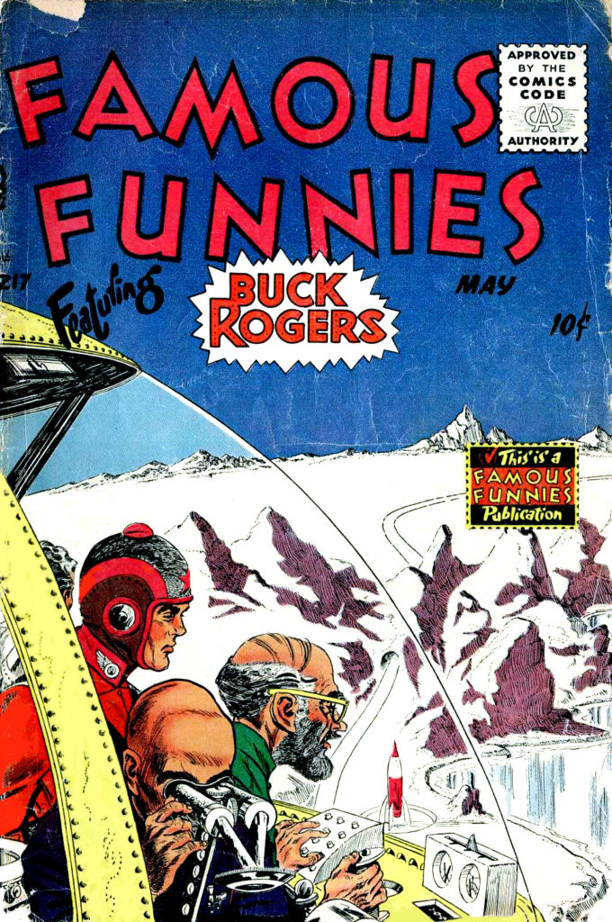 Famous Funnies 217 May 1955 Rick Yager