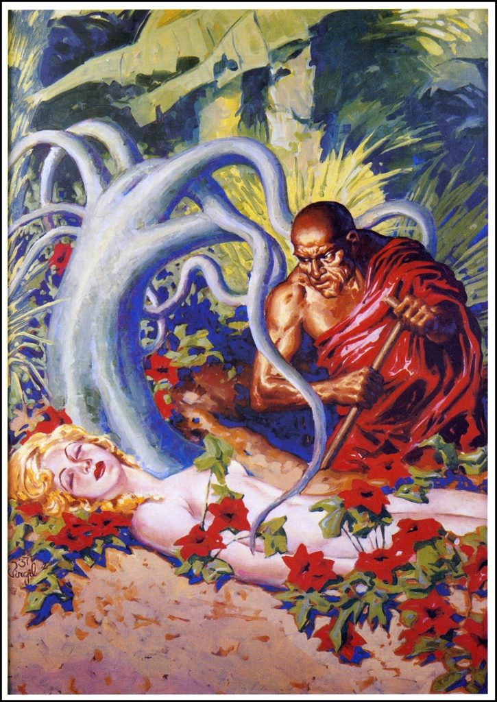 Findlays Illustrations for Weird Tales 1936 1938 cover