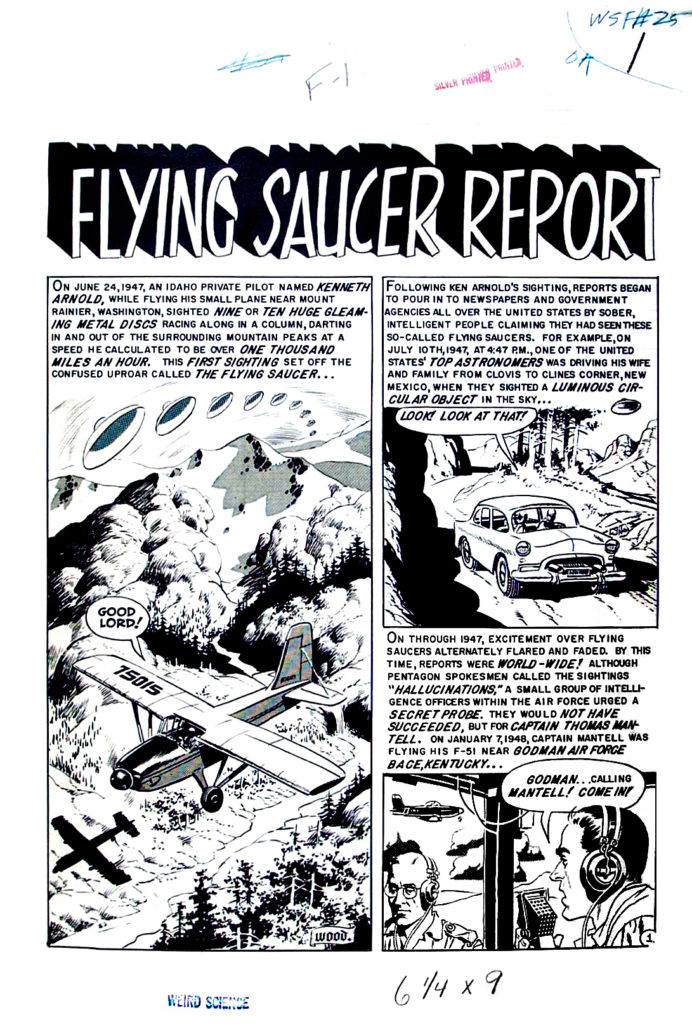 Flying Saucer Report 1