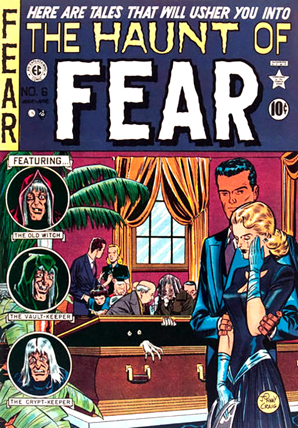 Haunt of Fear 6 So They Finally Pinned You Down 1