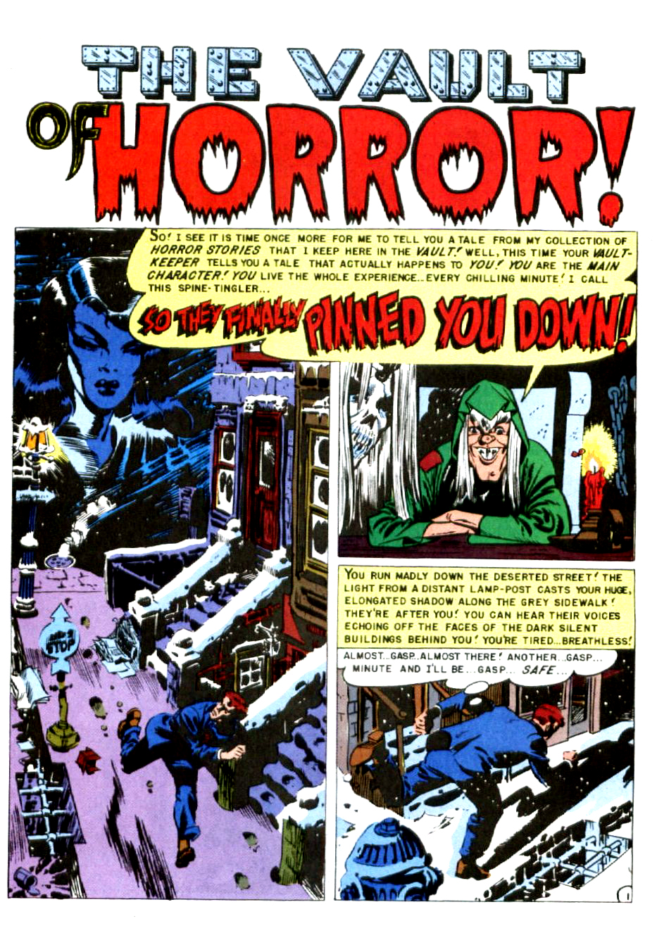 Haunt of Fear #6  So They Finally Pinned You Down! – Wood