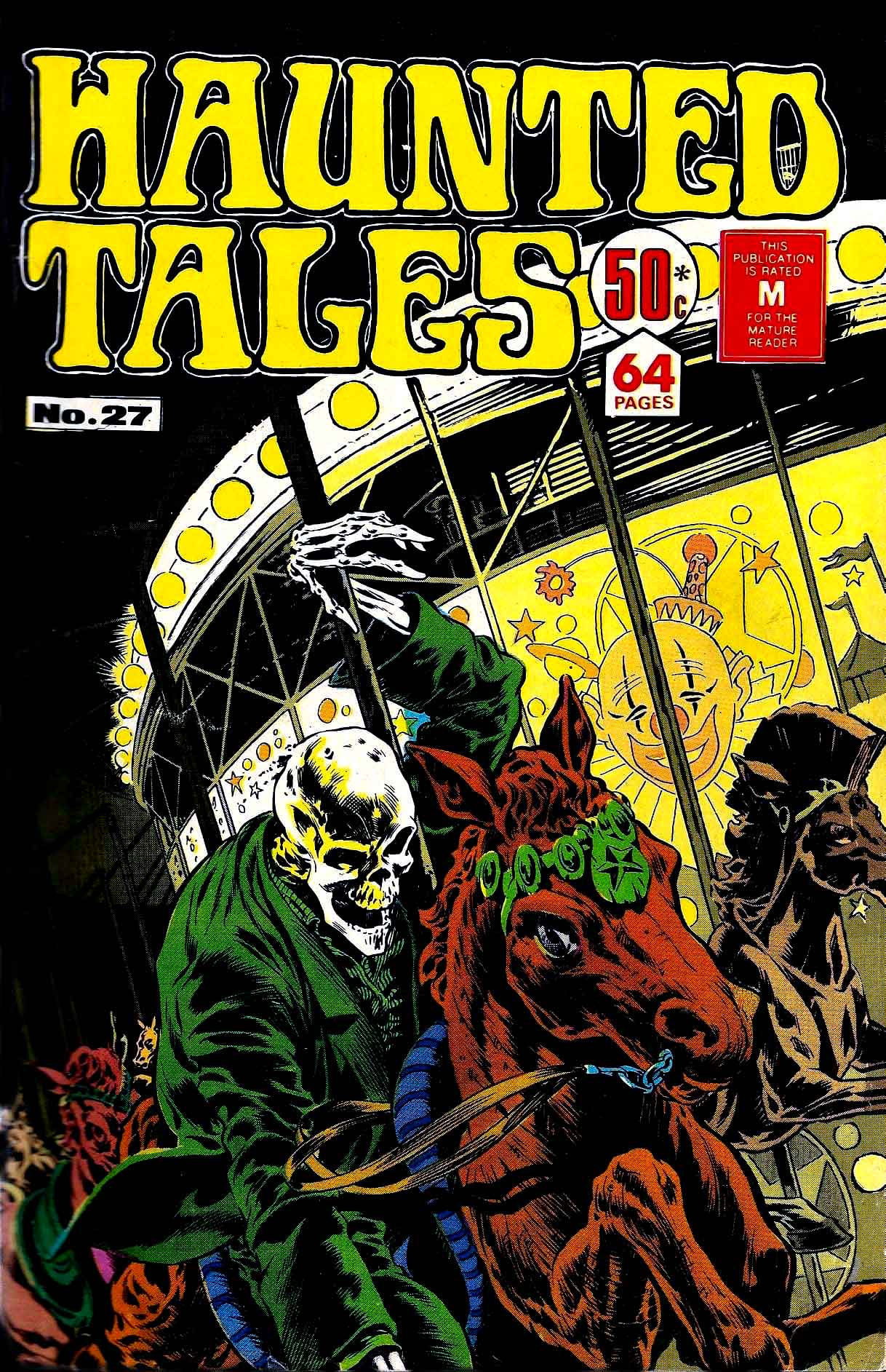 He who laughs last…from Haunted Tales #27