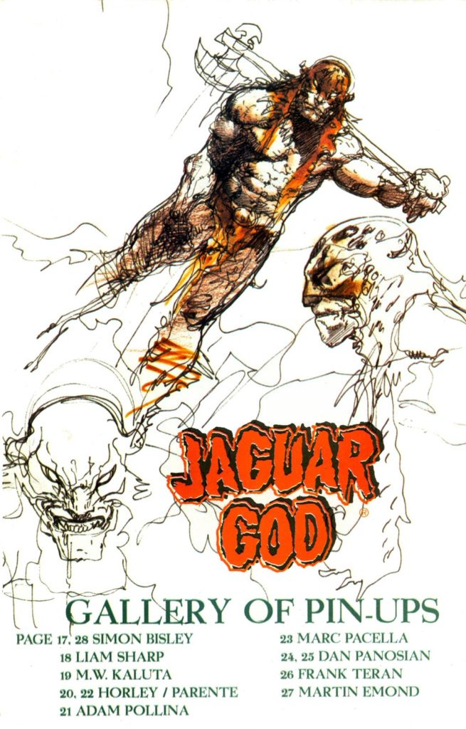 Jaguar God comic 0 20