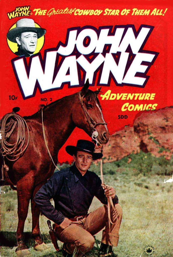John Wayne Adventure Comics 2 1
