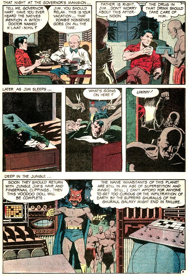 Jungle Jim 22 The witch doctor of borges island 2