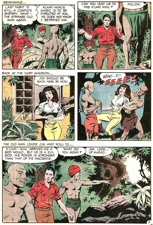 Jungle Jim 22 The witch doctor of borges island 3