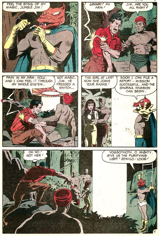 Jungle Jim 22 The witch doctor of borges island 5