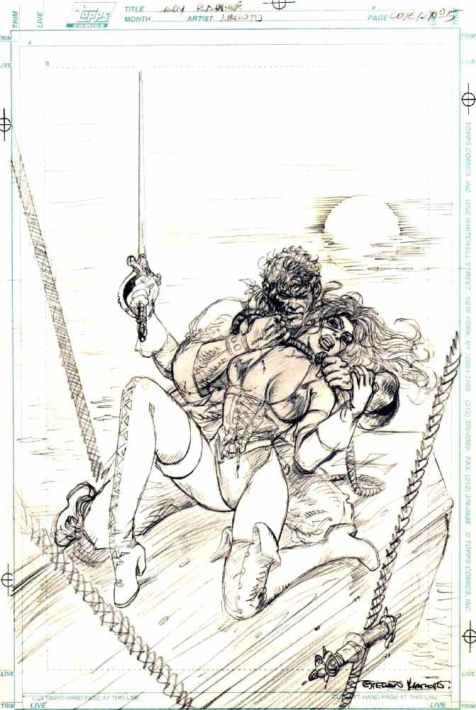 Lady Rawhide 5 Cover Pencil Prelim