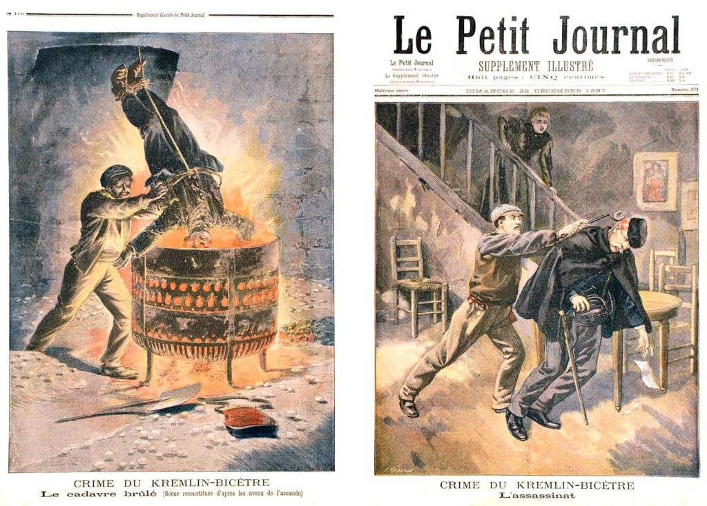 Le Petit Journal illustre 1897 N°371 Le crime du Kremlin Bicetre a