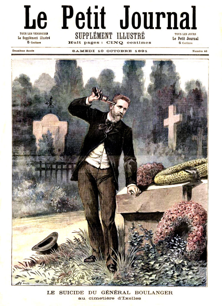 Le petit journal illustre 1881 Boulanger