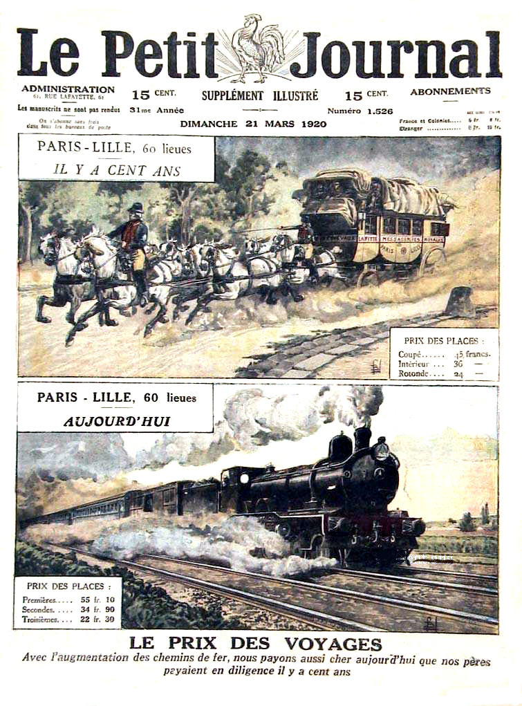 Le petit journal illustre 1920 N° 1526 page 1