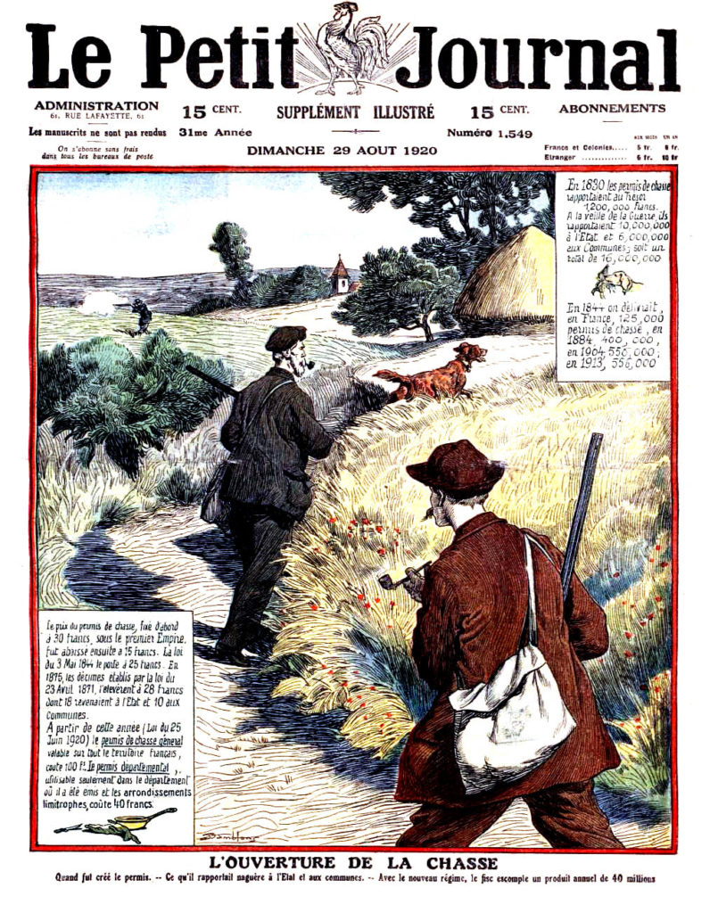 Le petit journal illustre 1920 N° 1549 page 1