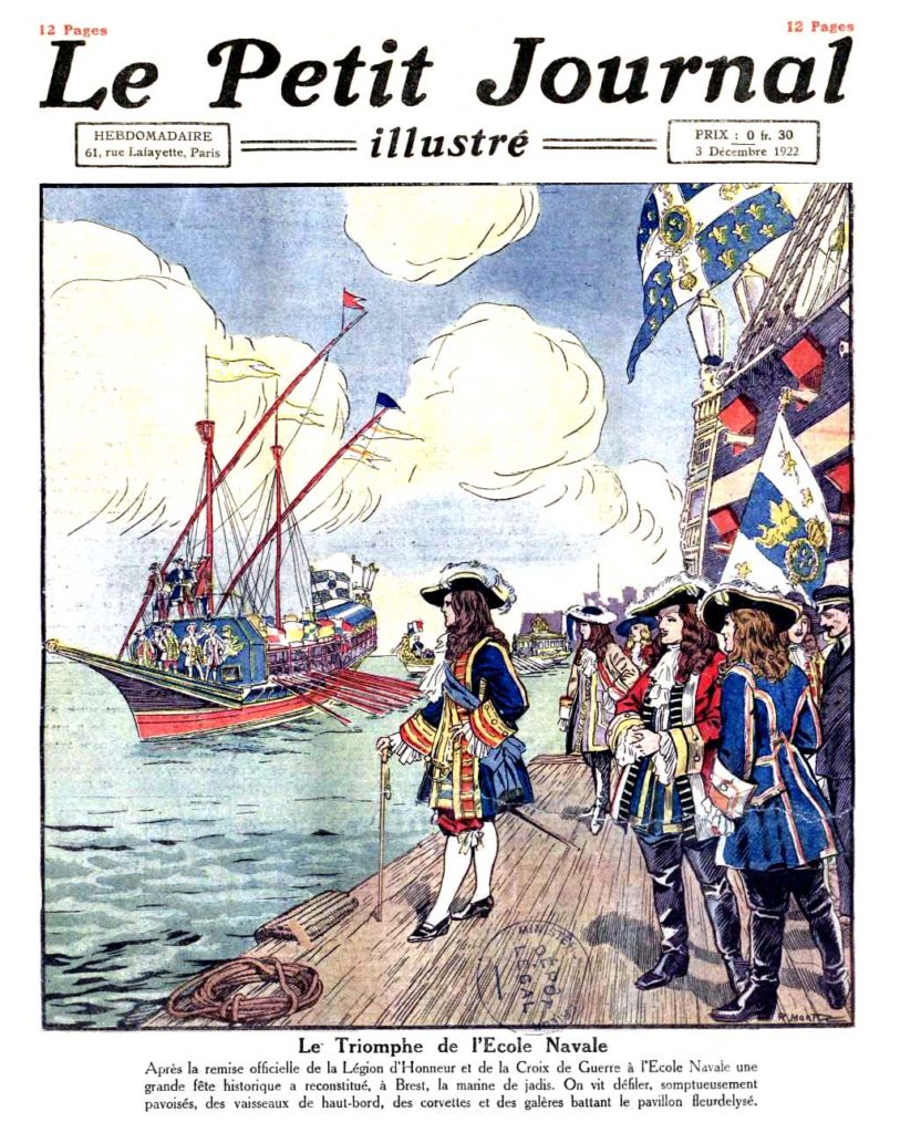 Le petit journal illustre 1922 12 03 Numero 1667.page 1a