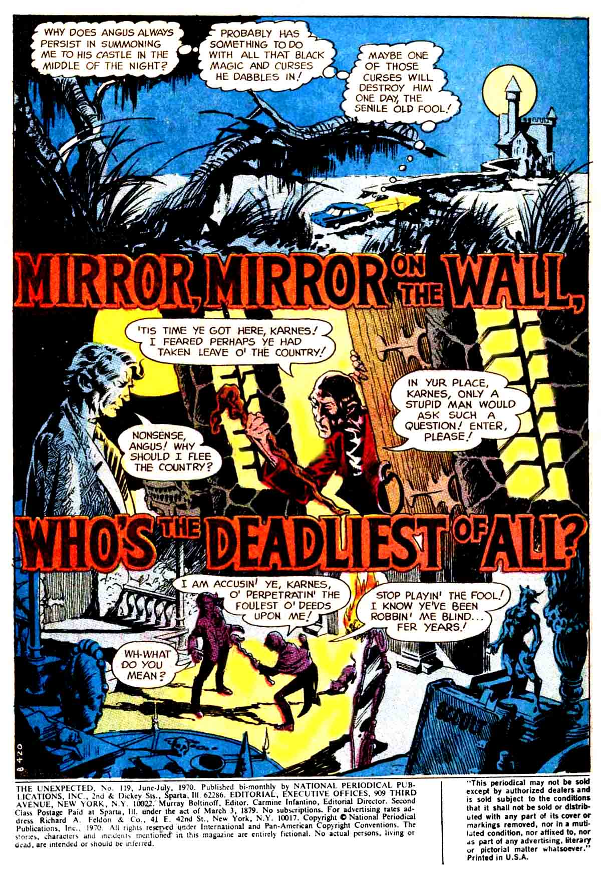Mirror, Mirror on the Wall, Who's the Deadliest of All.