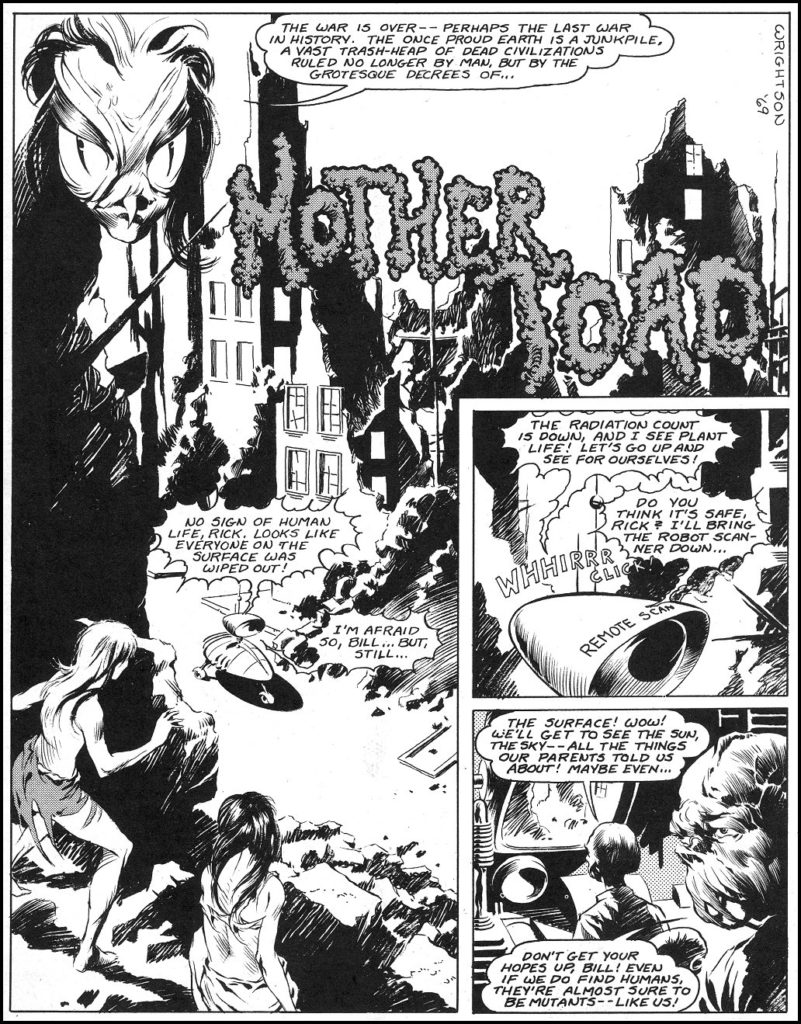 Mother Toad Wrightson 1 1
