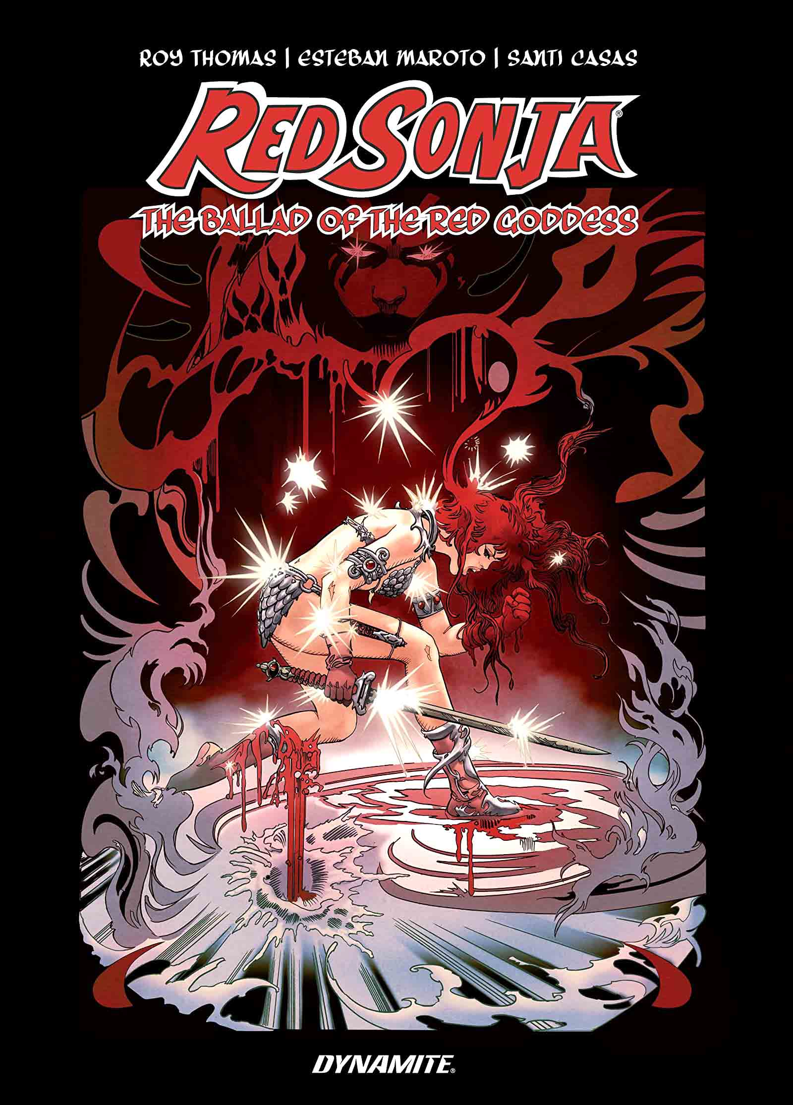 "Red Sonja The Ballad of the Red Goddess ""Extrait"""