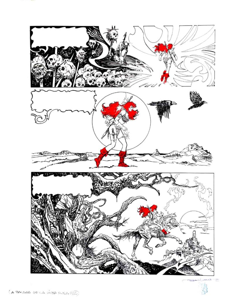 PAGE 20 Red Sonja The Ballad of the Red Goddess 1